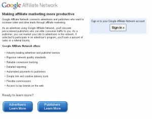 google affiliate netzwerk